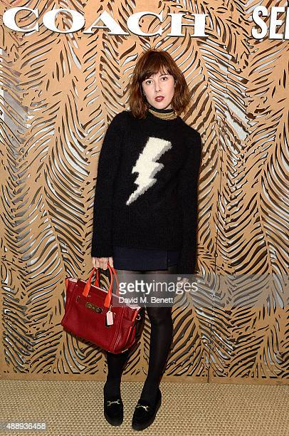 Paula Goldstein attends the launch of Coach at Selfridges hosted by Stuart Vevers at Selfridges on September 18 2015 in London England