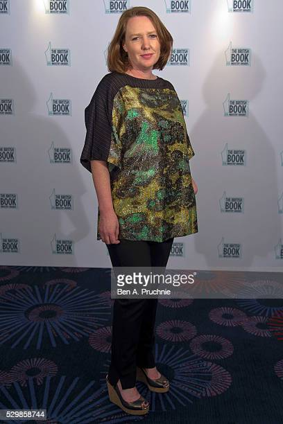 Paula Hawkins attends the 2016 British Book Industry Awards at the Grosvenor House Hotel on May 9 2016 in London England