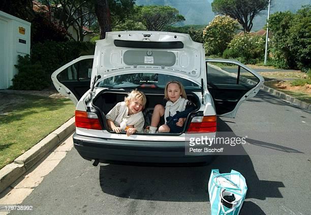 Paula Hoenig mit Bruder Lukas Hoenigbei Kapstadt Südafrika Afrika Urlaub