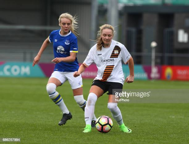 Paula Howells of London Bees during Women's Super League 2 Spring Series match between London Bees against Everton Ladies at The Hive Barnet FC on 20...