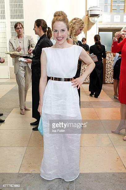 Paula Kalenberg attends the German Film Award 2015 Lola at Messe Berlin on June 19, 2015 in Berlin, Germany.