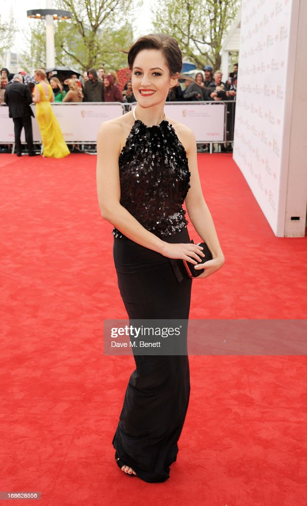Paula Lane attends the Arqiva British Academy Television Awards 2013 at the Royal Festival Hall on May 12, 2013 in London, England.