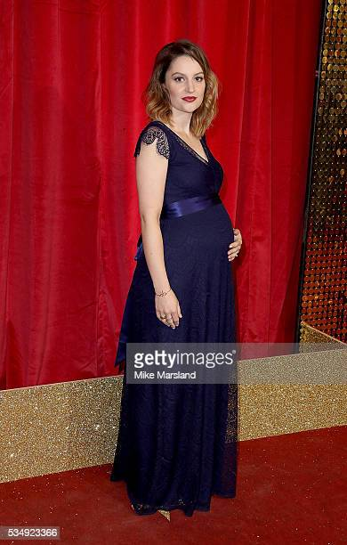 Paula Lane attends the British Soap Awards 2016 at Hackney Empire on May 28 2016 in London England