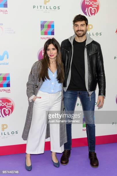 Paula Loves and Fran Guzman attend 'La Noche De Cadena 100' charity concert at WiZink Center on March 24 2018 in Madrid Spain