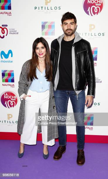 Paula Loves and Fran Guzman attend 'La Noche De Cadena 100' charity concert at WiZink Center on March 24 2018 in Madrid Spain