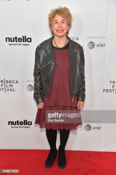 Paula Mae Schwartz attends the Shorts Program Homeless The Soundtrack during the 2018 Tribeca Film Festival at Regal Battery Park 11 on April 21 2018...