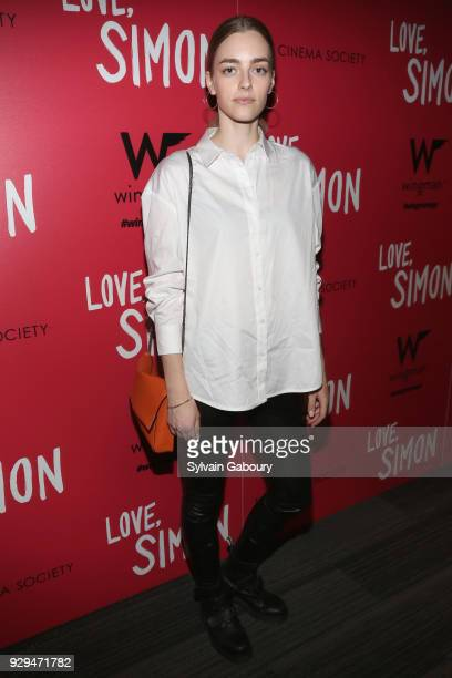 Paula Magyar attends 20th Century Fox Wingman host a screening of 'Love Simon' on March 8 2018 in New York City