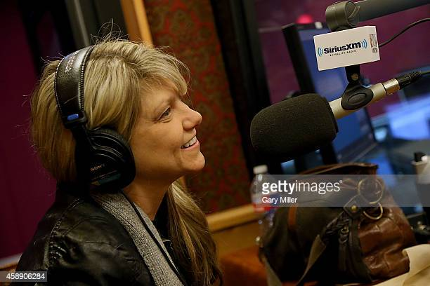 Paula Nelson helps Mojo Nixon Celebrate His 10 Year Anniversary On SiriusXM with A special live show at the SiriusXM Studios on November 12 2014 in...