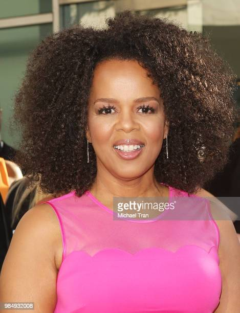 Paula Newsome arrives to Los Angeles premiere of HBO limited series 'Sharp Objects' held at ArcLight Cinemas Cinerama Dome on June 26 2018 in...