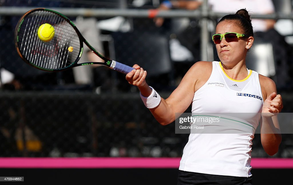 Fed Cup - Argentina v Spain - Playoffs : News Photo