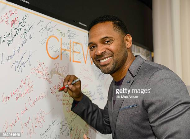 THE CHEW 6/9/16 Paula Patton and Mike Epps appear on THE CHEW airing MONDAY FRIDAY on the Walt Disney Television via Getty Images Television Network...