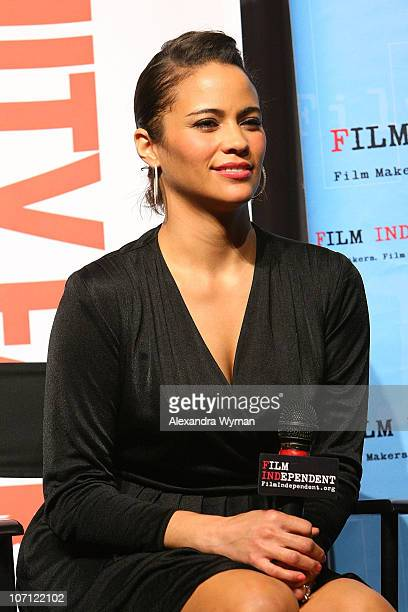 Paula Patton at Film Independent's Screening of Precious held at The Pacific Design Center on October 28 2009 in West Hollywood California