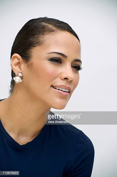 Paula Patton at the Precious press conference at the Four Seasons Hotel on November 1 2009 in Beverly Hills California