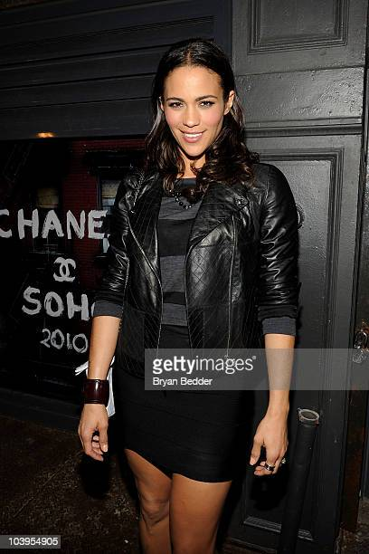 Paula Patton attends a private dinner hosted by CHANEL for Karl Lagerfeld at 82 Mercer on September 9 2010 in New York City