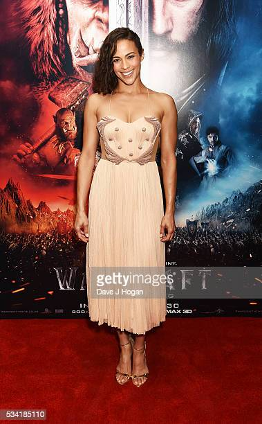 Paula Patton attends a special screening of Warcraft The Beginning at BFI IMAX on May 25 2016 in London England