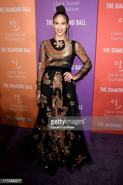 Paula Patton attends Rihanna's 5th Annual Diamond Ball at Cipriani Wall Street on September 12 2019 in New York City
