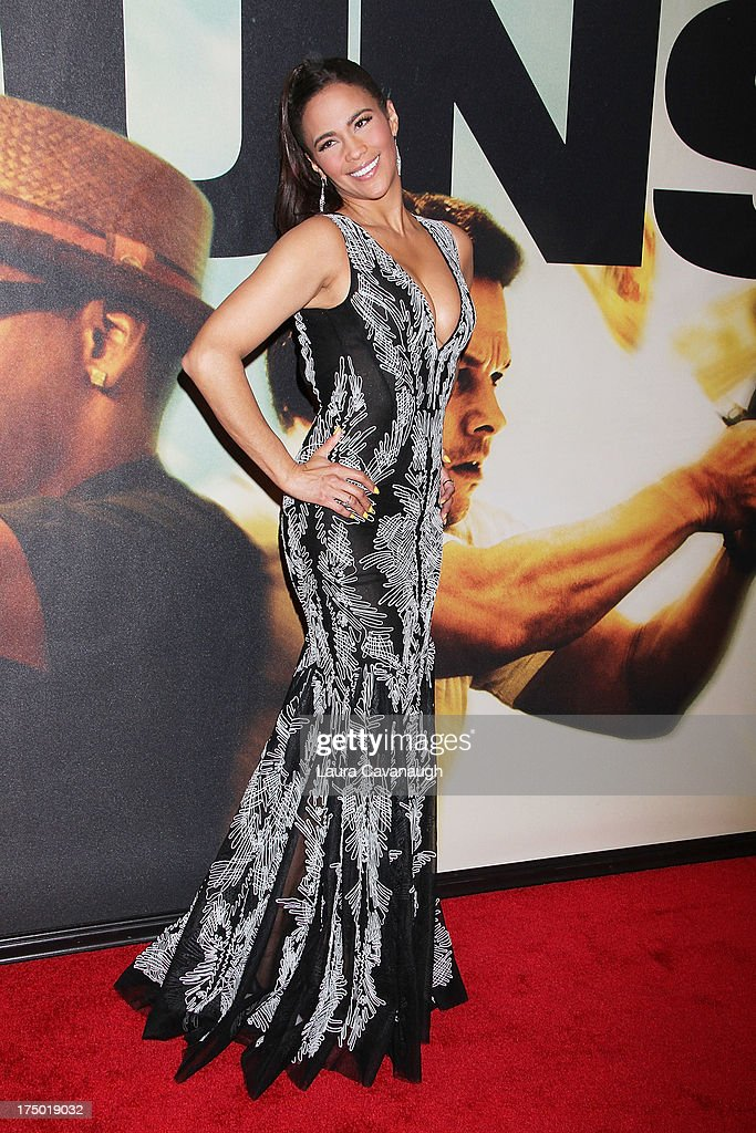 Paula Patton attends the '2 Guns' premiere at SVA Theater on July 29, 2013 in New York City.