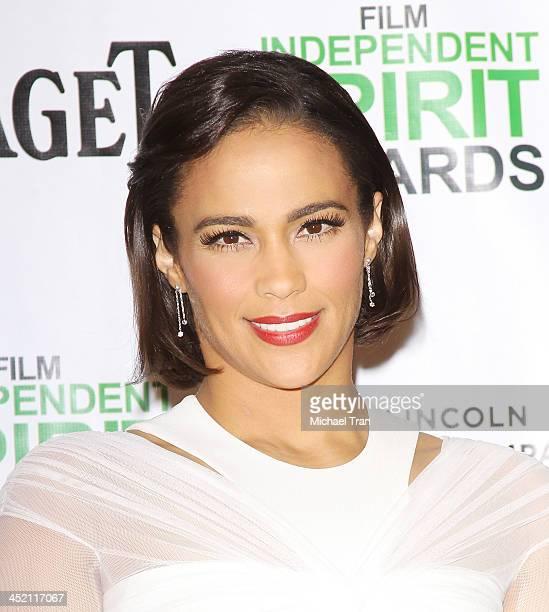 Paula Patton attends the 2014 Film Independent Spirit Awards nominations press conference held at W Hollywood on November 26 2013 in Hollywood...