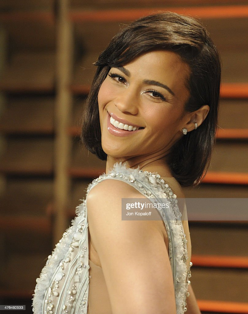 Paula Patton attends the 2014 Vanity Fair Oscar Party hosted by Graydon Carter on March 2, 2014 in West Hollywood, California.
