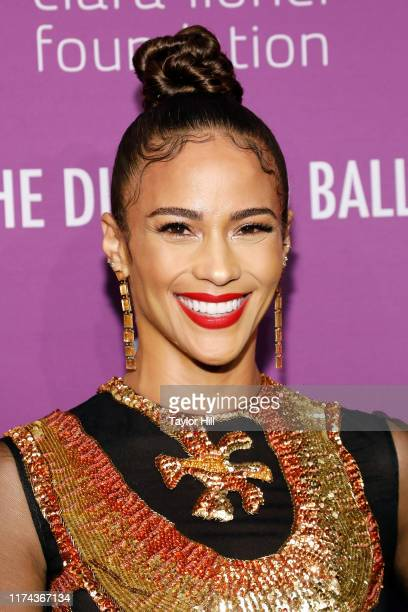 Paula Patton attends the 5th Annual Diamond Ball benefiting the Clara Lionel Foundation at Cipriani Wall Street on September 12 2019 in New York City