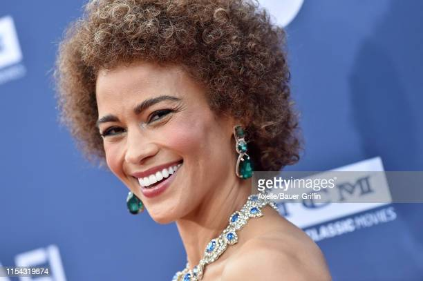 Paula Patton attends the American Film Institute's 47th Life Achievement Award Gala Tribute to Denzel Washington at Dolby Theatre on June 06 2019 in...