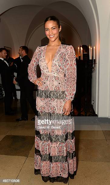 Paula Patton attends the Attitude Awards 2015 at Banqueting House on October 14 2015 in London England