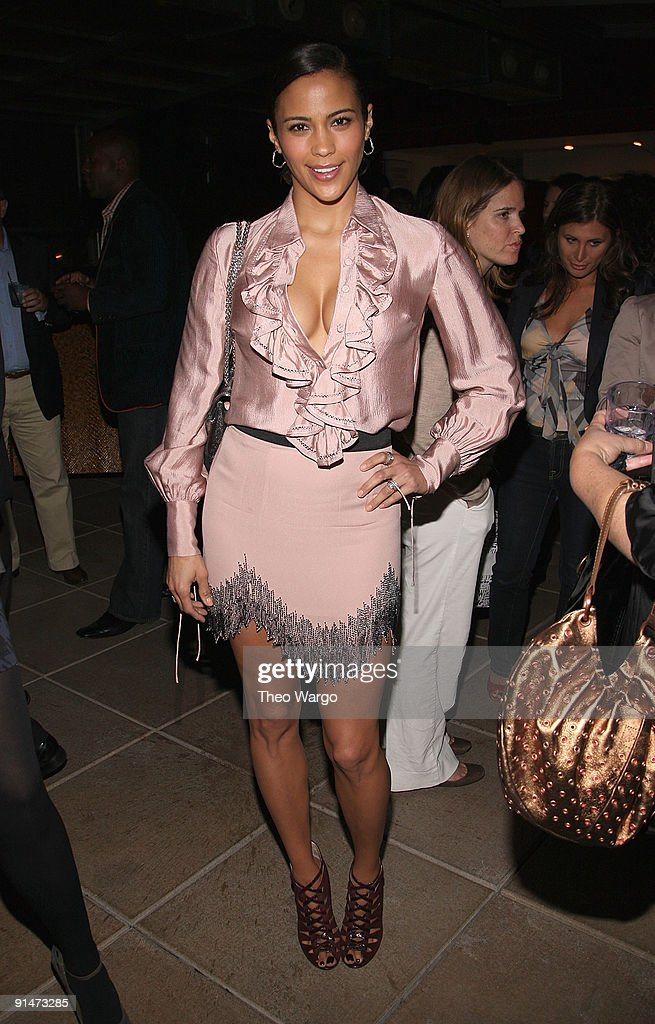 Paula Patton attends the launch party for new sitcom 'Sherri' at the Empire Hotel on October 5, 2009 in New York City.