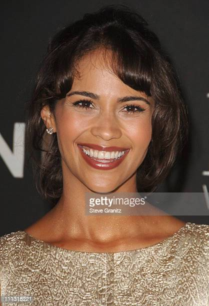 Paula Patton during 13th Annual Premiere Women in Hollywood Arrivals at Beverly Hills Hotel in Beverly Hills California United States