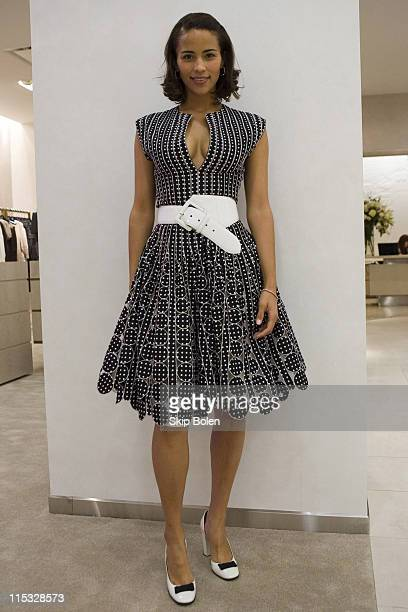 Paula Patton during Saks Fifth Avenue Grand ReOpening of the New Orleans Store November 16 2006 at Saks Fifth Avenue in New Orleans Louisiana United...