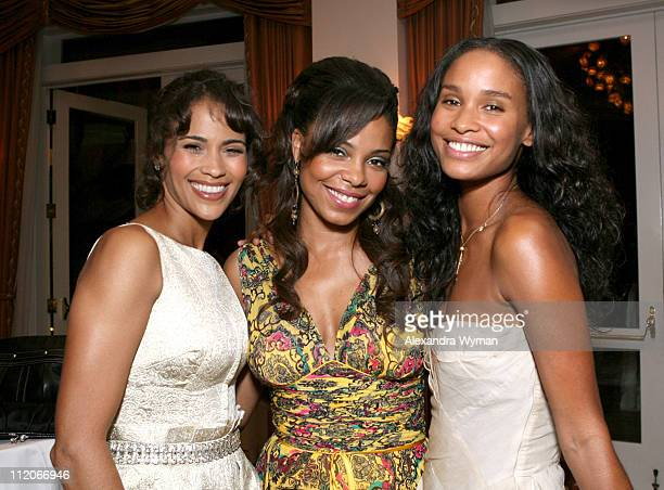 Paula Patton Sanaa Lathan and Joy Bryant during 13th Annual Premiere Women in Hollywood Inside at Beverly Hills Hotel in Beverly Hills California...