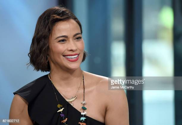 Paula Patton visits Build to discuss Somewhere Between And Her New Film Traffik at Build Studio on July 24 2017 in New York City