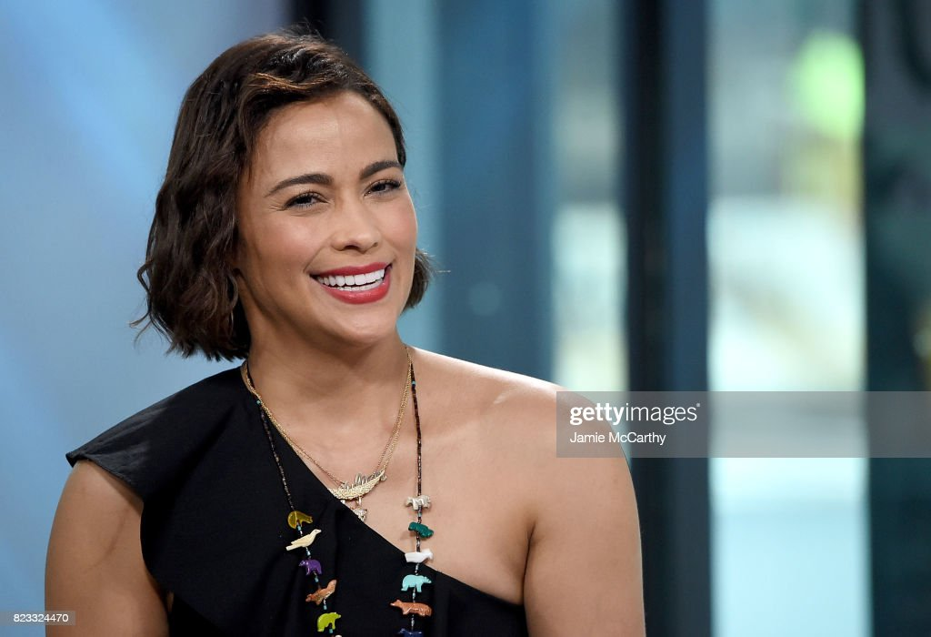 Paula Patton visits Build to discuss 'Somewhere Between' And Her New Film 'Traffik' at Build Studio on July 24, 2017 in New York City.