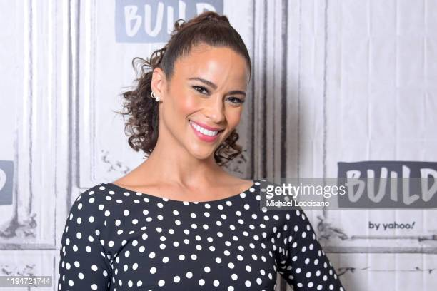 Paula Patton visits Build to discuss the movie Sacrifice at Build Studio on December 18 2019 in New York City