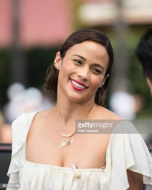 Paula Patton visits Extra at Universal Studios Hollywood on July 20 2017 in Universal City California
