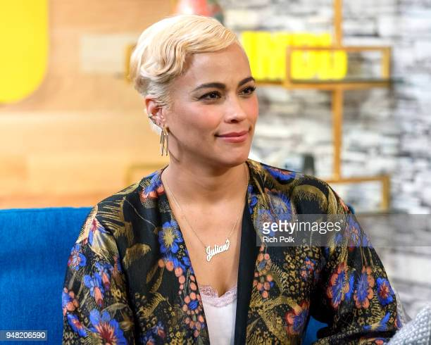 Paula Patton visits 'The IMDb Show' on April 11 2018 in Studio City California This episode of 'The IMDb Show' airs on April 19 2018