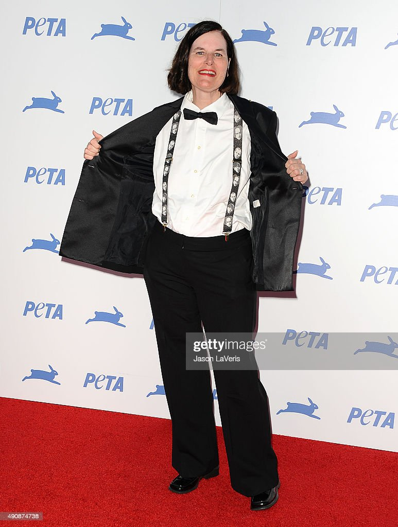 Paula Poundstone attends PETA's 35th anniversary party at Hollywood Palladium on September 30, 2015 in Los Angeles, California.