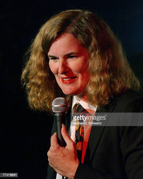 Paula Poundstone performs at the 47th Ice House anniversary show to benefit Hillsides Home Charity October 7 2007 in Pasadena California