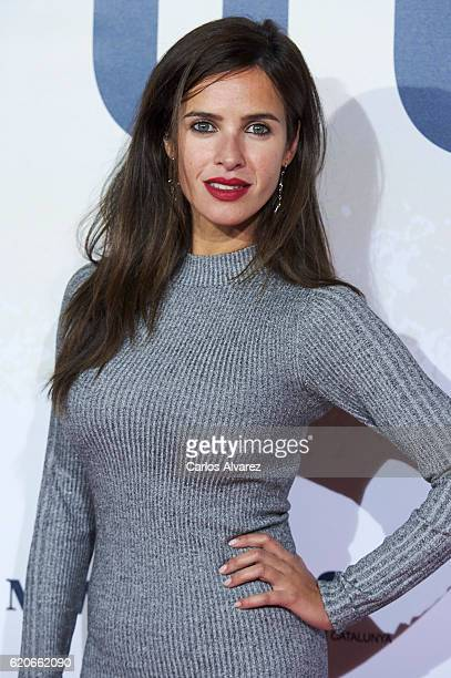 Paula Prendes attends '100 Metros' premiere at Capitol cinema on November 2 2016 in Madrid Spain
