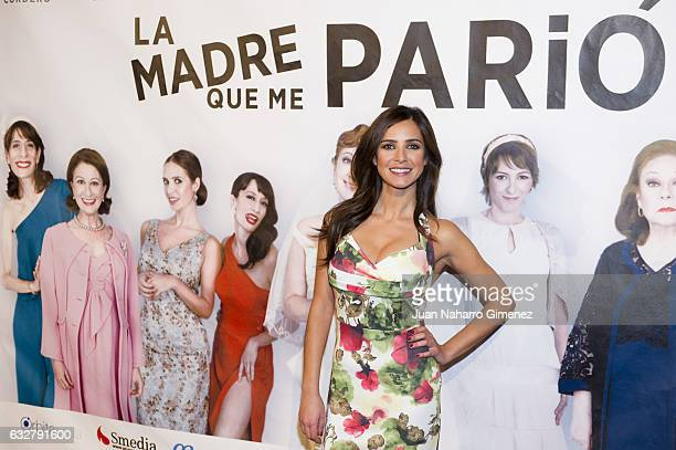 Paula Prendes attends 'La Madre Que Me Pario' photocall at Figaro Theater on January 26 2017 in Madrid Spain