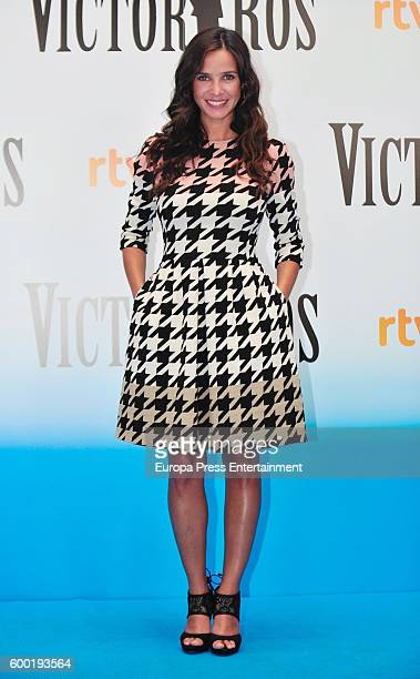 Paula Prendes attends 'Victor Ros' photocall at Escoriaza Esquivel Palace during FesTVal 2016 Televison Festival on September 7 2016 in...