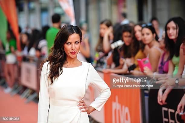 Paula Prendes attends 'Victor Ros' premiere at Principal Theater during FesTVal 2016 Televison Festival on September 7 2016 in VitoriaGasteiz Spain