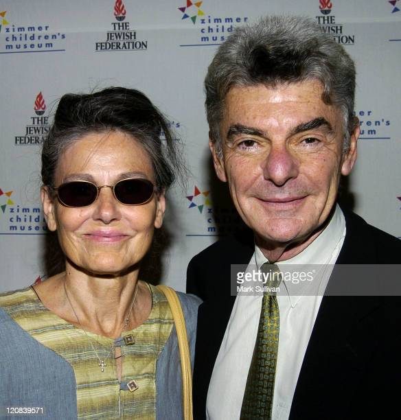 Paula Prentiss and Richard Benjamin during ShowTelArt of Connection Exhibit and Auction at Zimmer Children's Museum in Los Angeles California United...