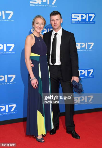 Paula Radcliffe and Gary Lough attend the BBC Sports Personality of the Year 2017 Awards at the Echo Arena on December 17 2017 in Liverpool England