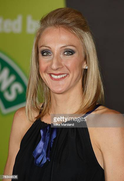 Paula Radcliffe arrives at BBC Sports Personality of The Year at the NEC Birmingham on December 09 2007 in Birmingham United Kingdom