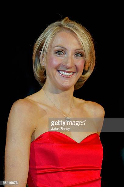 Paula Radcliffe arrives at the BBC Sports Personality of the Year Awards on December 11 2005 at the BBC Television Centre in London England