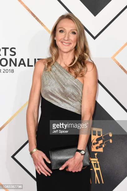 Paula Radcliffe attends the 2018 BBC Sports Personality Of The Year at The Vox Conference Centre on December 16 2018 in Birmingham England