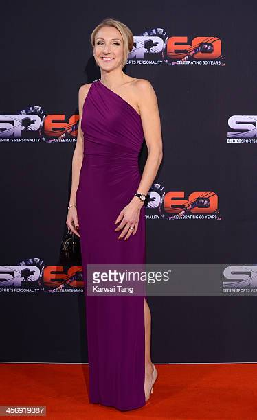 Paula Radcliffe attends the BBC Sports Personality of the Year awards at the First Direct Arena on December 15 2013 in Leeds England