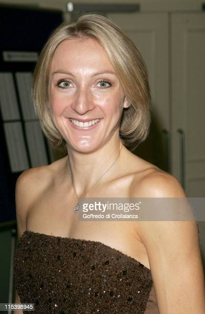 Paula Radcliffe during 2005 Sports Journalists' Association Awards at Radisson SAS Portman Hotel in London Great Britain
