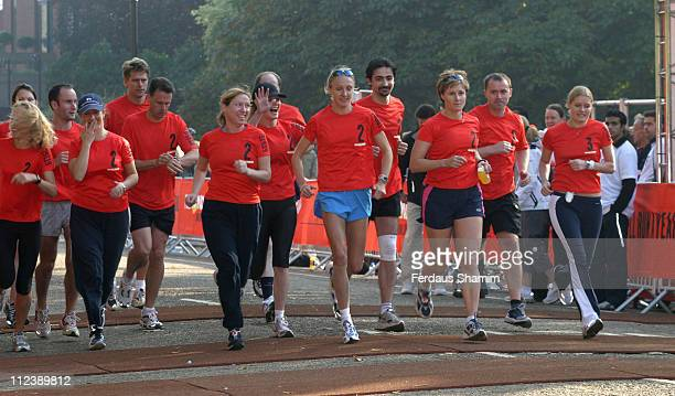 Paula Radcliffe during Nike 10K Run London Photocall at Hyde Park in London Great Britain