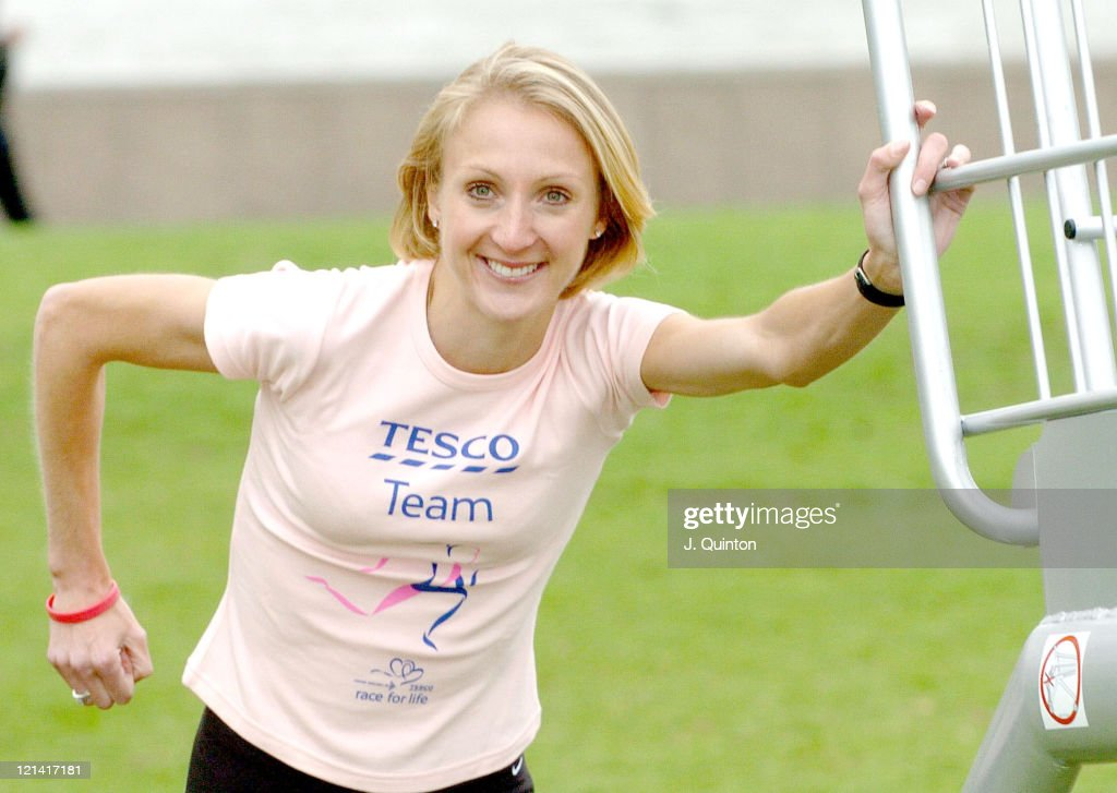 "Paula Radcliffe Launches Cancer Research UK's ""Race for Life 2005"""